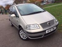 Volkswagen Sharan 1.9 TDI PD SE 5dr LONG MOT,CLEAN CAR IN AND OUT