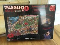 Brand new wasjig puzzle - still in plastic wrapping, never used