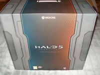 Halo 5 Guardians Limited Collector's Edition game and statue