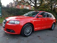 AUDI A3 2.0 TDI DSG SLINE 5 DOOR EVERY EXTRA POSSIBLE FSH!!