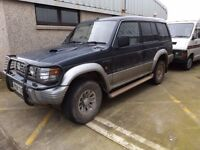 MITSUBISHI SHOGUN 2.8 DIESEL MANUAL. 1997. GOOD CONDITION AND GREAT RUNNER. PERFECT FOR WINTER.