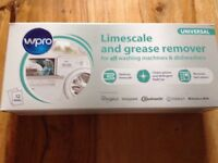Limescale Grease Remover x 12 for Washing Machine &/or Dishwasher