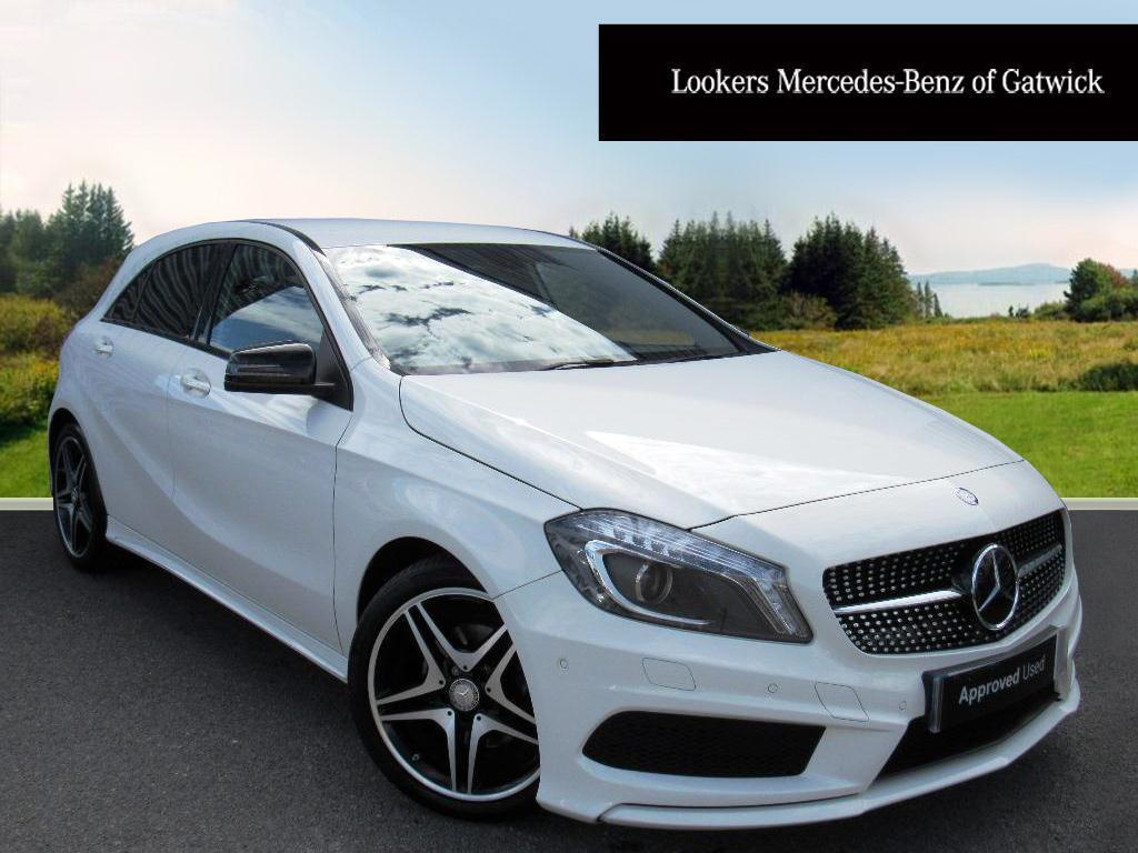 mercedes benz a class a200 cdi amg night edition white 2015 04 30 in crawley west sussex. Black Bedroom Furniture Sets. Home Design Ideas