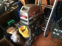 2 Outboard motors plus boat and accessories.