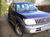 for sale toyota land cruiser vx 3.4 lt blue on silver converted to lpg (curent price 52 p ltr )