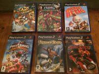 Job Lot PS2 games inc Chicken Little, Power Rangers, Prince of Persia, Hot Wheels World Race