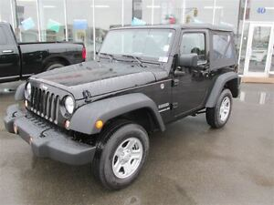 2016 Jeep Wrangler Sport V6 6spd 4x4 In Stock