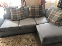 Lovely dfs corner sofa