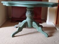 Shabby chic low table/coffee table in Annie Sloan chalk paint