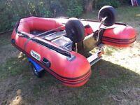 Tohatsu 3.6m Inflatable boat