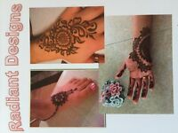 RADIANT DESIGNS Experienced henna artist for ladies