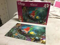 Disney jigsaws, very good condition