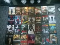 89 original DVDs