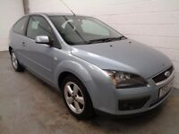 FORD FOCUS , 2007 REG , ONLY 55000 MILES + FULL HISTORY , 11 MONTHS MOT, FINANCE AVAILABLE, WARRANTY