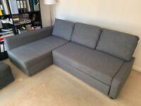 FRIHETEN corner sofa - £270