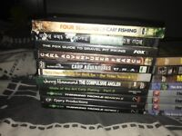 Selection of fishing dvds