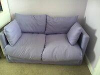 Purple child's sofa bed