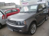 RANGE ROVER SPORT SE TD V6,stunning looking 4x4,FSH,1 previous owner,cream leather interior