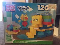 Mega Blocks for ages 3-6 years