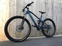 Canyon Nerve AL 9.0 full Suspension Enduro/Downhill Bike, LIKE NEW, HIGH SPEC, DEORE