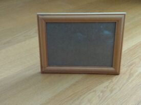 "6x4"" wooden photo frame"