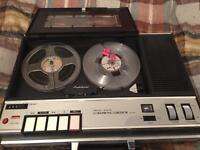 Vintage Home reel to reel tape recorder