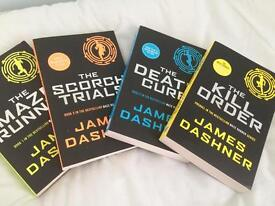 Maze Runner Full Set Of Books