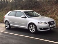Mint 2009 Audi A3 1.4 TFSI Sport 3dr, trade in considered, credit and debit cards accepted