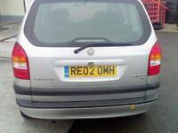 Vauxhall zafira 2002 1.6