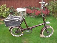 Hipster Vintage Raleigh RSW MK2 Bronze/brown bicycle