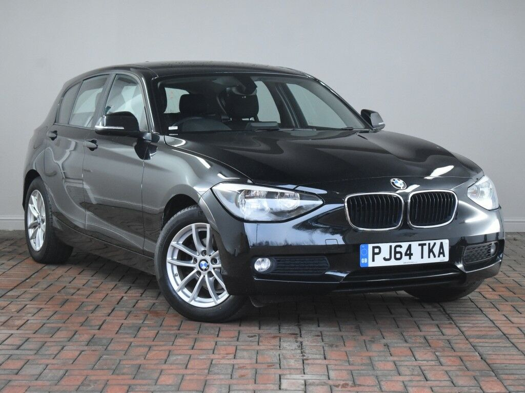 bmw 1 series 116d efficientdynamics 5dr black 2014 in winsford cheshire gumtree. Black Bedroom Furniture Sets. Home Design Ideas