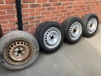 VW transporter wheels / tyres