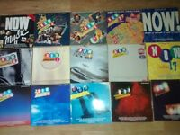 16 x now thats what i call music vinyl LP's nos 2 .3.4,5.6.7.8.9.10,11,12,13,14,16,17,18