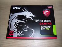 MSI GTX 770 (2048 MB) Excellent Condition Boxed!