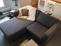 Ikea chaise 2 seater sofa