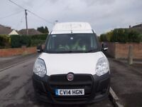 FIAT VAUXHALL DOBLO COMBO HIGH TOP VAN YEAR 2014 MOT JULY 18 SIDE LOADING DOORS 6 SPEED 1.6 DIESEL