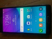 Unlocked Samsung galaxy note 4 in black