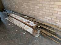 Free timber, planks, battens, firewood