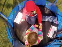 My First Trampoline Toddler Child Indoor Outdoor Trampoline & Enclosure