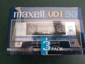 MAXELL UDI 90 blank cassette tape SEALED Hornsby Hornsby Area Preview