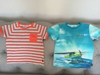 Ted Baker boys t shirts age 2-3 years excellent condition