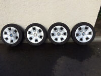 BMW 1 series winter wheels & tyres (set of 4) for sale