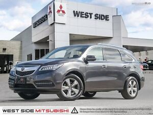 2014 Acura MDX–SiriusXM–Power Sunroof–3.5L V6–