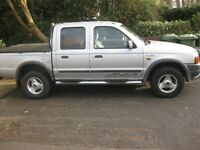 FORD RANGER 4X4 CREW CAB PICK UP