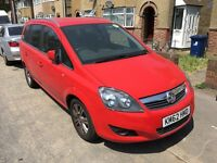 Uber Ready PCO Car/Minicab For Sale,2012 Vauxhall Zafira 1.6 Petrol Low Mileag 7 Seater Pco Car Sale