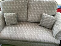 Two seater sofa green