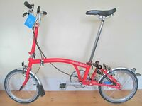 New Brompton M3L Folding Bike With Lights