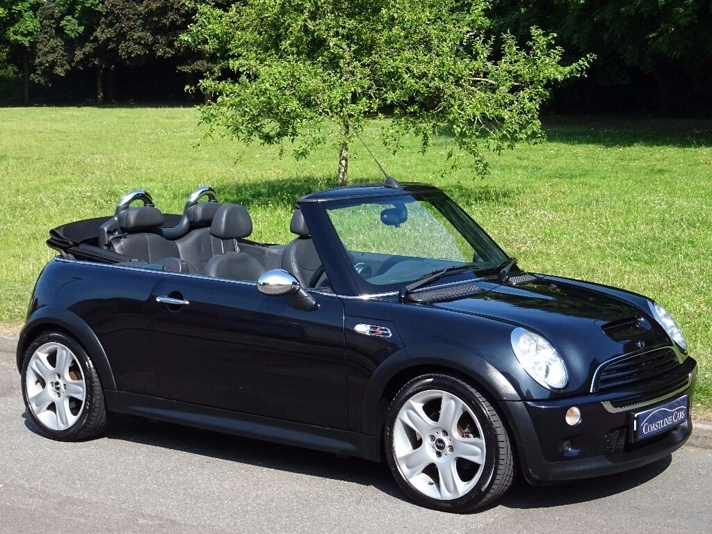 2006 Mini Convertible 1 6 Cooper S 2dr Full Heated Black Leather