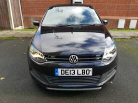 Volkswagen polo 1.2 tsi r line 2013 , low miles, extras installed