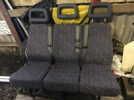 Rear van seats transit/sprinter